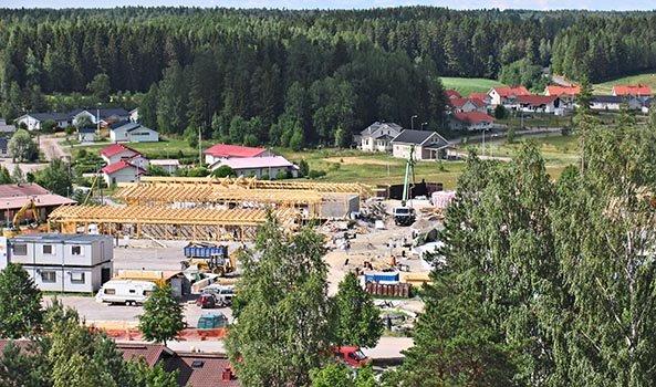 Onninkartanon rakennustyömaa 20.07.06