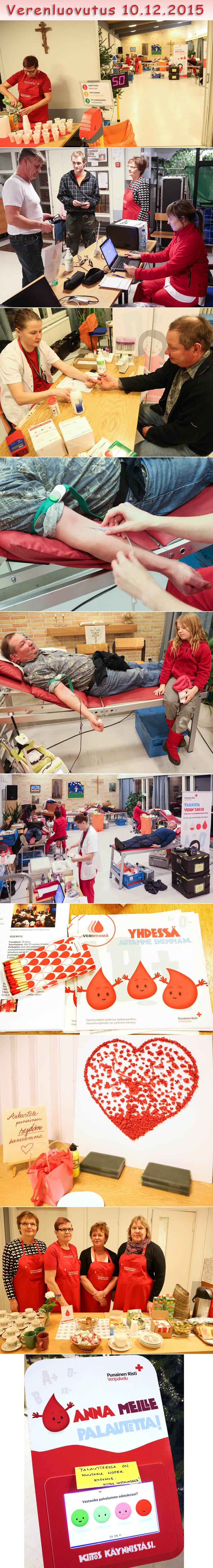 Verenluovutus 2015